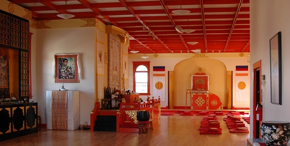 Boulder Shambhala Center Main Shrine Room photo