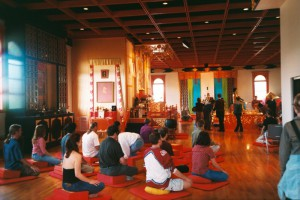 Last time the tour was hosted here at Boulder Shambhala Center