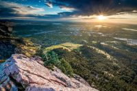 View of Boulder from the First Flatiron. Credit Caine Delacy for The New York Times